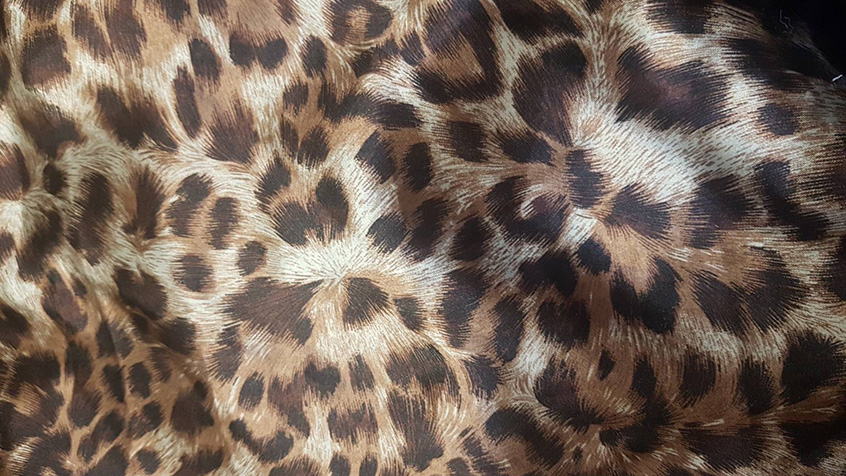 Leopard Satin New Pattern